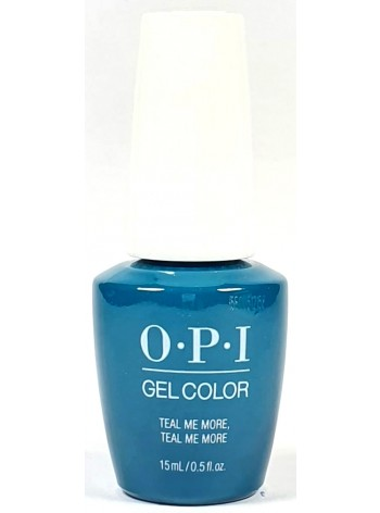 Teal Me More, Teal Me More * OPI Gelcolor