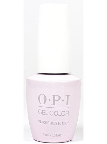 Frenchie Likes To Kiss? * OPI Gelcolor