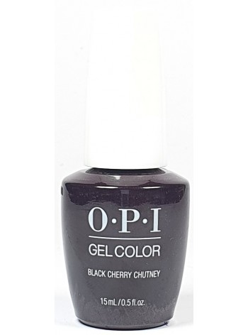 Black Cherry Chutney * OPI Gelcolor