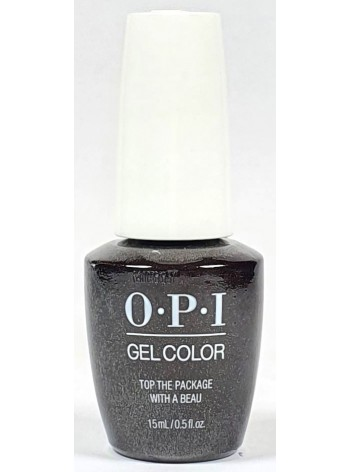 Top The Package With A Beau * OPI Gelcolor
