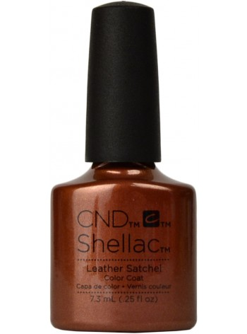 Leather Satchel * CND Shellac