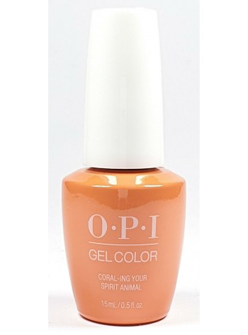 Coral-ing Your Spirit Animal * OPI Gelcolor