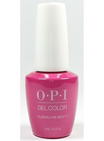 Telenovela Me About It * OPI Gelcolor