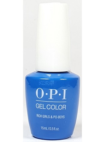 Rich Girls & Po-Boys * OPI Gelcolor