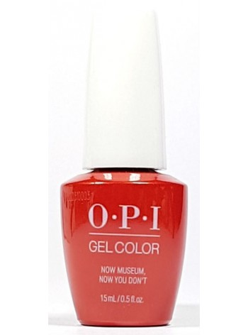 Now Museum Now You Don't * OPI Gelcolor