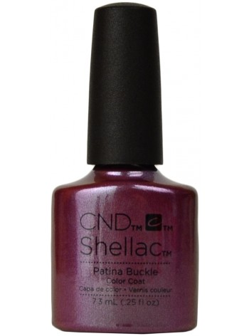 Patina Buckle * CND Shellac