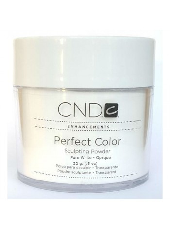 Pure White - Opaque * CND Sculpting Powders-22 g.