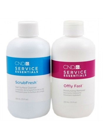 CND Scrubfresh + Offly Fast Remover Kit