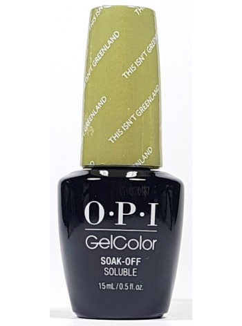 This Isn't Greenland * OPI Gelcolor