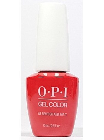 We Seafood and Eat It * OPI Gelcolor